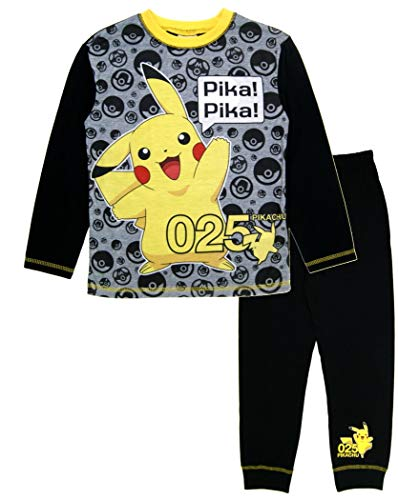 Pokemon Pika Pika Jungen Schlafanzug 9-10 Jahre