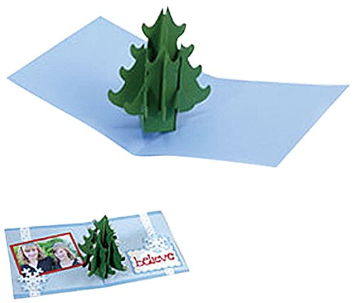 Sizzix Bigz XL BIGkick/Big Shot Die, Christmas Tree 3-D Pop-Up by Sizzix