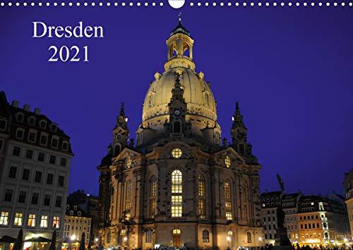 Dresden 2021 (Wandkalender 2021 DIN A3 quer)