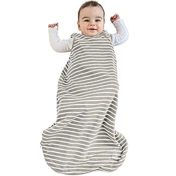 Baby Sleep Bag 4 Season Basic Merino Wool Toddler Sleeping Bag 18-36m Earth