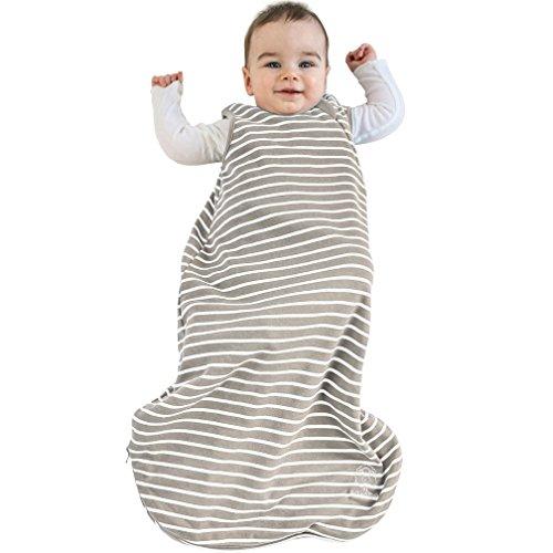 Baby Sleep Bag, 4 Season, Basic Merino Wool Toddler Sleeping Bag, 18-36m, Earth