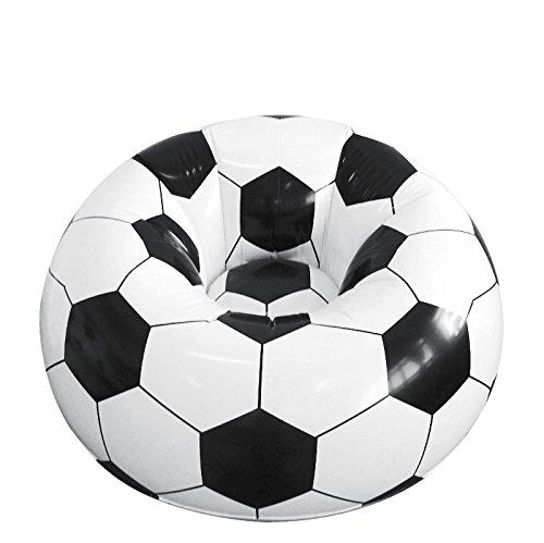 PRODMAISON Poltrona gonfiabile a forma di pallone da calcio