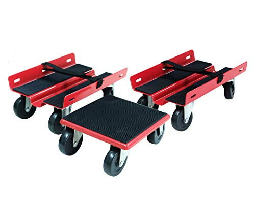 Rust Resistant Powder-Coated Finish Snowmobile Dollies