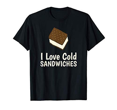 Sándwiches de helado Vainilla Camiseta