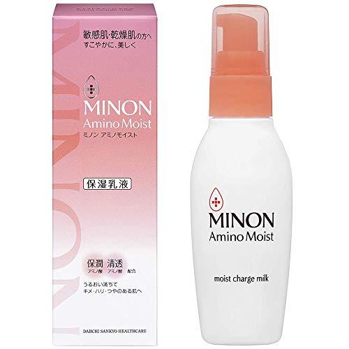 Minon Amino Moist Moist Charge Milk - 100g (Green Tea Set)