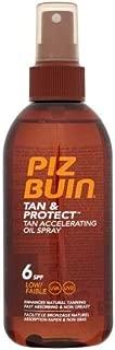 Piz Buin Tan and Protect Oil Spray Spf6 150ml