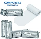 Rollo de papel para impresora térmica de ecografía, compatible con Sony UPP-110 HD, 5
