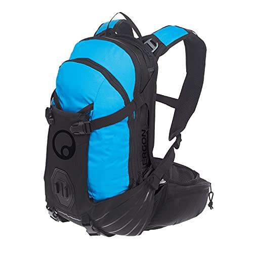 Ergon BA2 Rucksack, Erwachsene, Unisex, Stealth/Blau, 10 l
