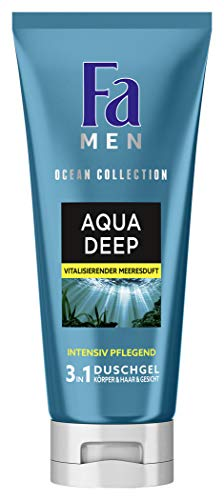 FA MEN 3in1 Duschgel Ocean Collection Aqua Deep, 1er Pack (1 x 200 ml)