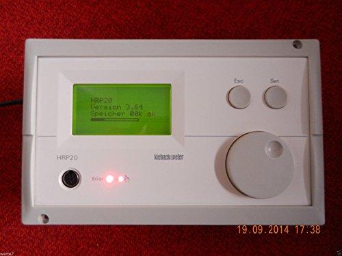Kieback & Peter HRP 20/100 Heizungsregelgerät, Version 3,64 mit Speicher 32K, offiziell unbenutztb,