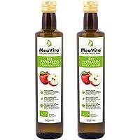 Meavita Meavita Vinagre De Sidra Orgánico De Manzana, Natural Turbio Y Sin Filtrar Con Nuez De Vinagre 1000 ml