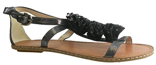 COACH Rose Women's Open Toe Shoes Size US 9.5 Black