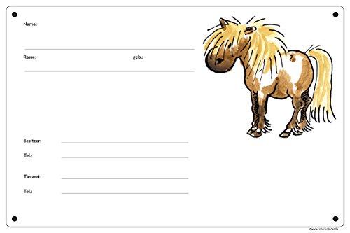 Boxenschild/Stalltafel Pony