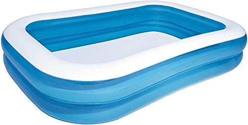 Denny International Giant Rectangular Family Size Swimming Paddling Pool Fun (79