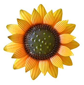 Best sunflower metal art Reviews