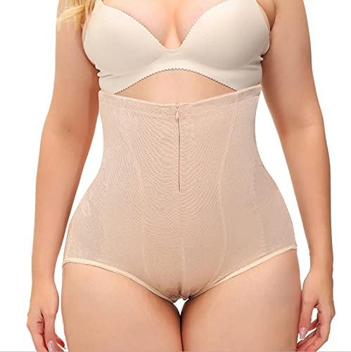Olaffi Cintura Alta Faja Tanga Braguitas Body Moldeador Abdomen Invisible Shapewear Faja Reductora Adelgazantes para Mujer