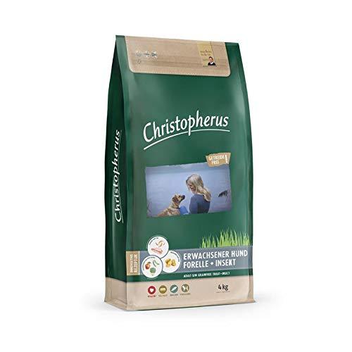 Christopherus Getreidefrei Forelle & Insekt | 4kg Hundefutter