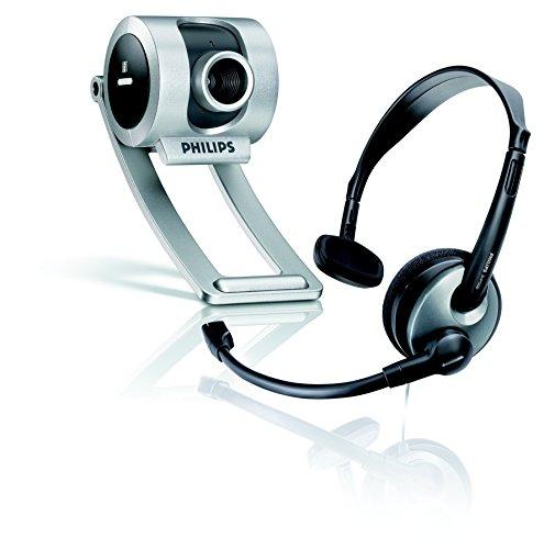 Philips - Webcam (640 x 480 Pixeles, 30 pps, 24 bit, USB, CMOS, 1,5 m)