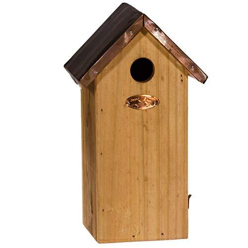 SIDCO Nistkasten Kohlmeise Vogelhaus Meisenhaus Nistkasten Meise Vogelhäuschen Holz