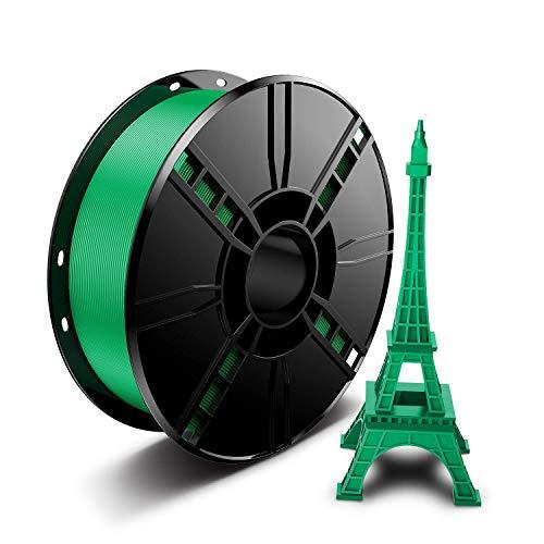 3D Printer Filamento PLA 1,75 mm, Aishtec Filamento PLA para impresora 3D, Filamento PLA 1 KG (2,2 lb)