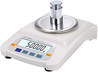 HYLH 1.2kg / 0.01g Pantalla LCD Balanza electroacute;nica Escala Laboratorio Escala Alta precisioacute;n Multifuncioacute;n Digital Joya Oro Herramienta pesaje