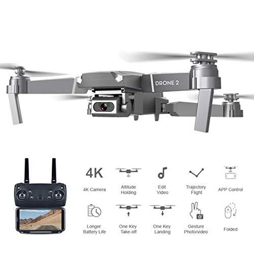 Fandazzie Quadcopter Altura Fija Drone Plegable Avión de Control Remoto aéreo Drones de fotografía