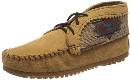 Minnetonka Damen EL Paso Ankle Desert Boots, Beige (Taupe), 40 EU