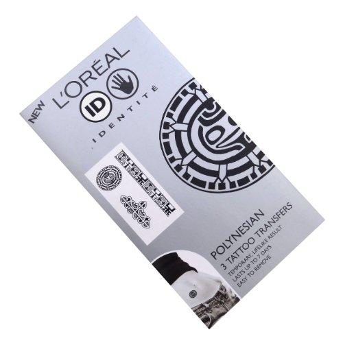 L'Oréal Kit de transfert de tatouages polynésiens