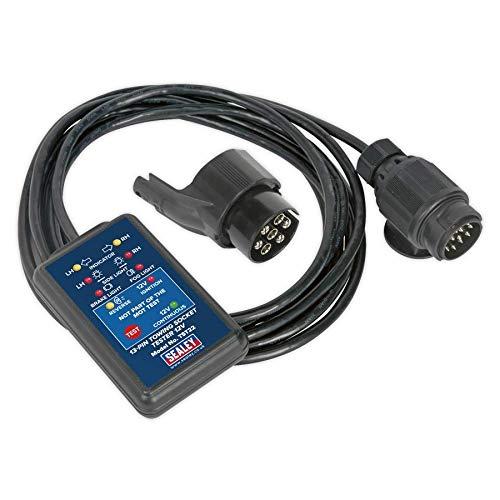 Sealey TST22 Tester für 13-polige Steckverbindung für Anhängerkupplungen, 12V