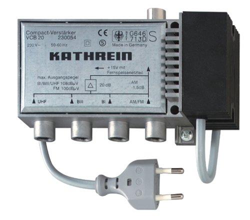 Kathrein VCB 20 Compact-Verstärker Silber