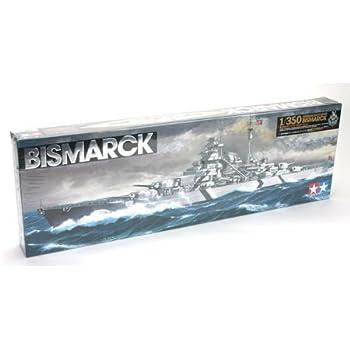 Tamiya 300078013 - Maqueta de Acorazado Bismarck alemán