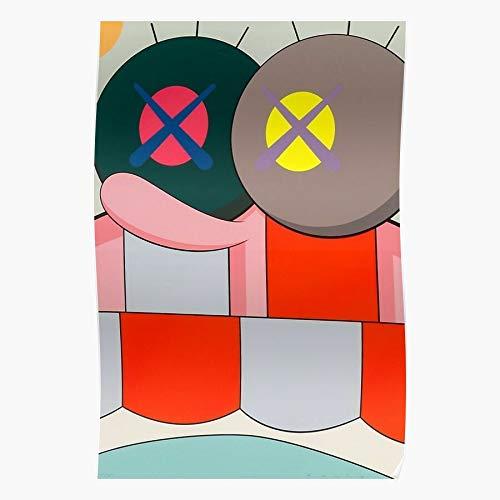 StarTrek Eye Co Amarican Uniqlo Donnelly KAWS Brian Doll Das eindrucksvollste und stilvollste Poster für Innendekoration, das derzeit erhältlich ist