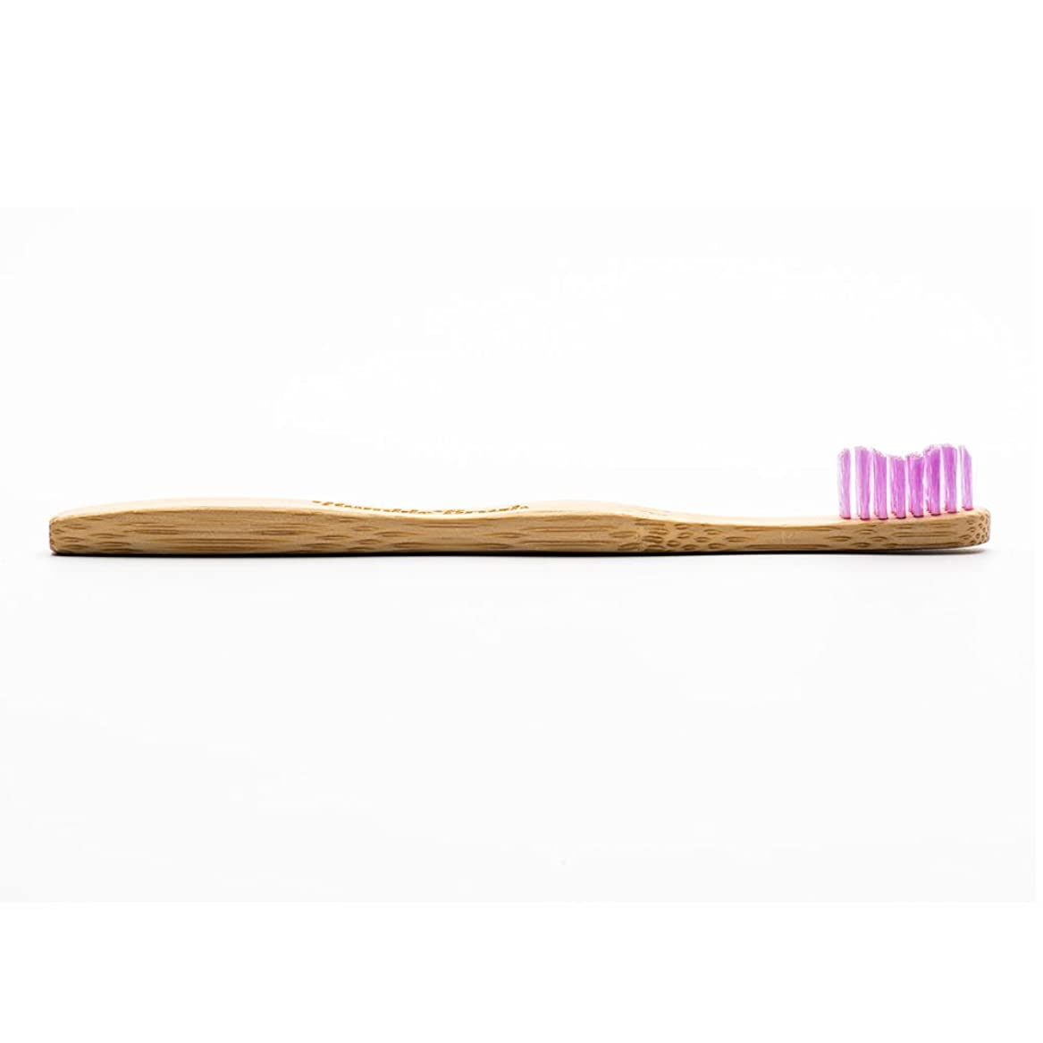負荷グリップ廃棄するHUMBLE BRUSH(ハンブルブラッシュ) 歯ブラシ キッズ パープル