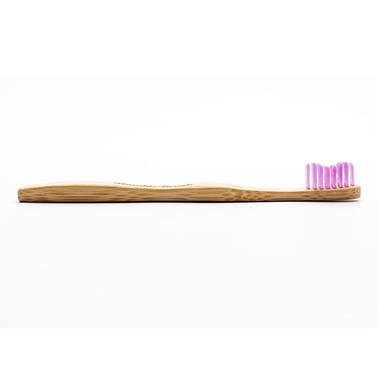 通信網満足再集計HUMBLE BRUSH(ハンブルブラッシュ) 歯ブラシ キッズ パープル