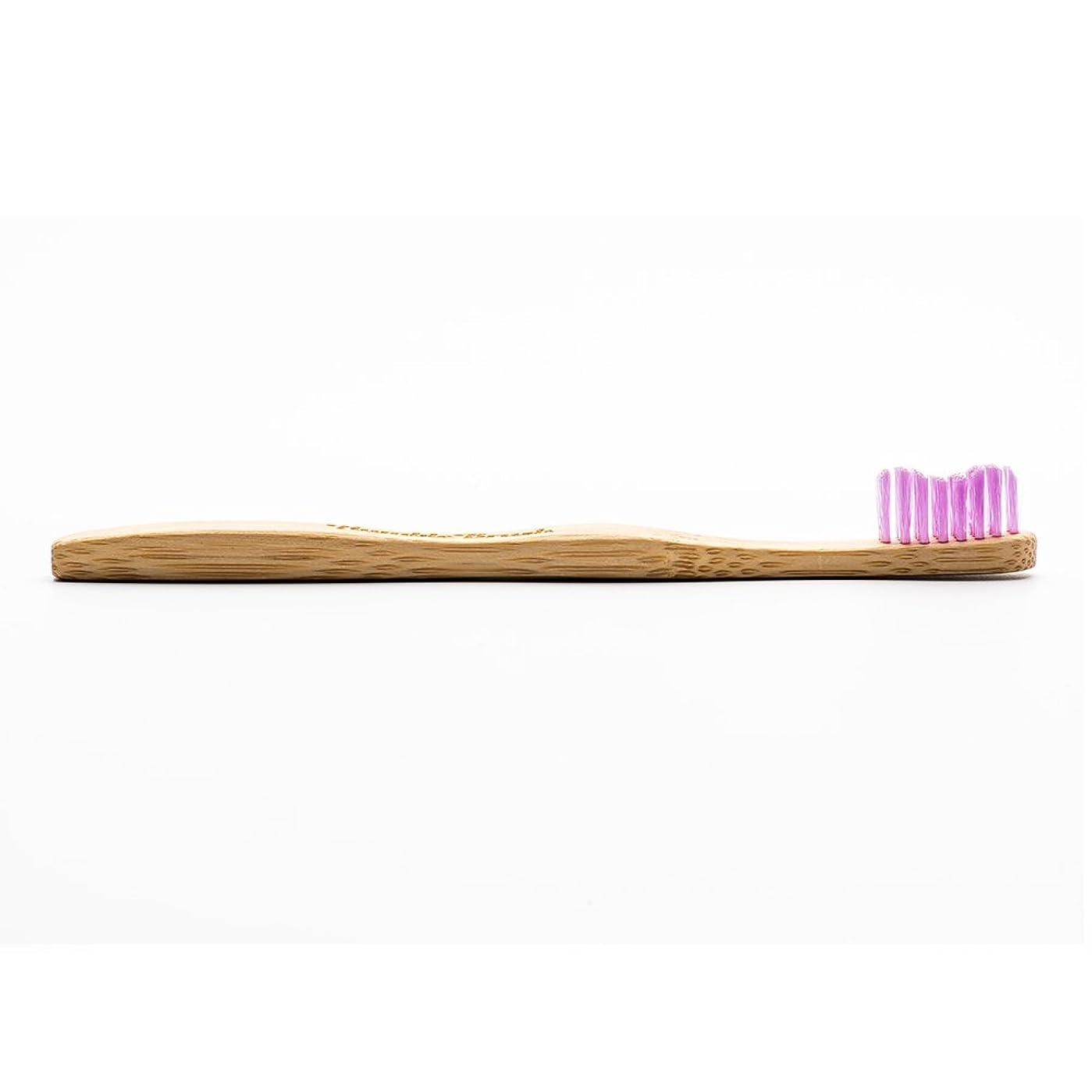 お母さんキャッチ狂気HUMBLE BRUSH(ハンブルブラッシュ) 歯ブラシ キッズ パープル