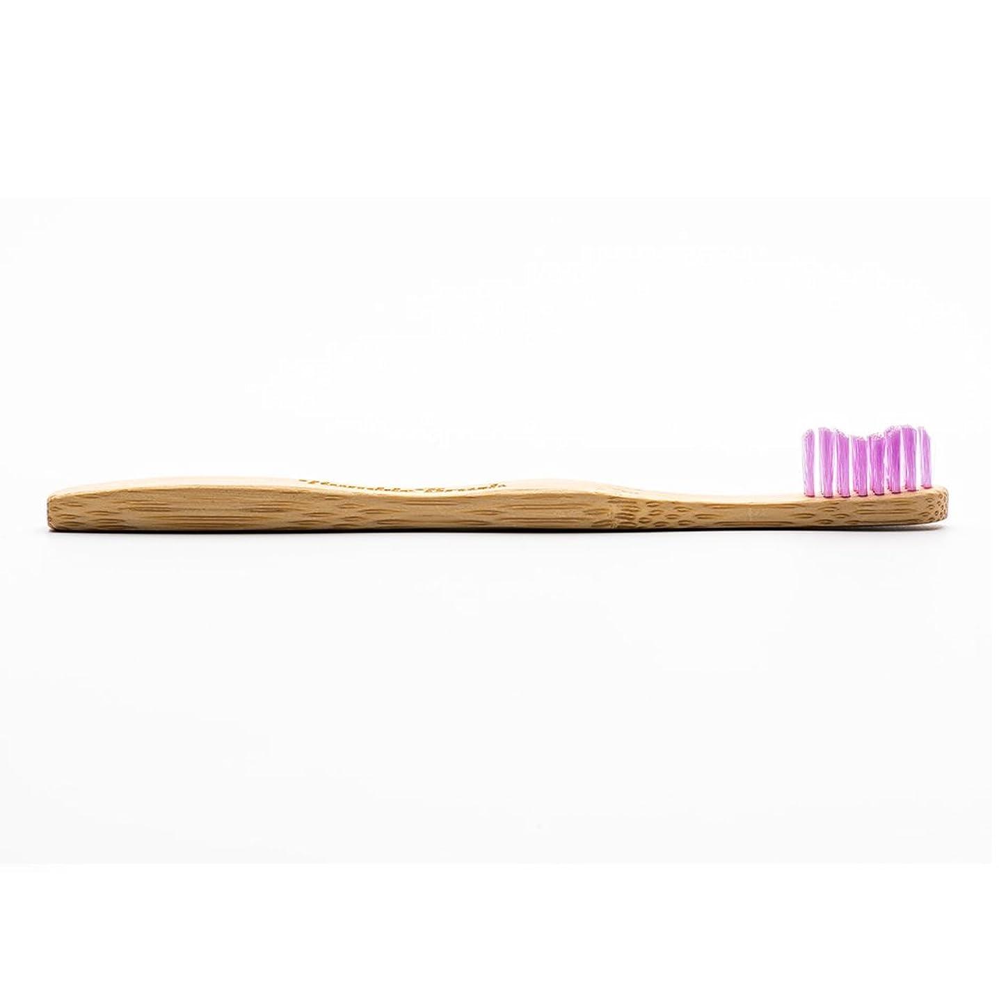 南東社員社員HUMBLE BRUSH(ハンブルブラッシュ) 歯ブラシ キッズ パープル