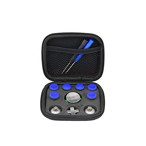 11 unids reemplazo intercambio pulgar apretones analógico stick D-Pad y parachoques botón de disparador para Xbox One Elite PS4 Switch Pro controlador Gamepad