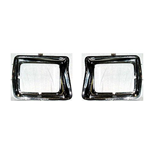 Evan-Fischer Headlight Door compatible with Ford Bronco 78-79 RH and LH Full-size