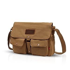 4114JyCPflL. SS300  - FANDARE Messenger Bag Crossbody Bolso Bandolera Shoulder Bag Portátil Estudiante Viaje Trabajo Escuela Bolsa Mensajero…