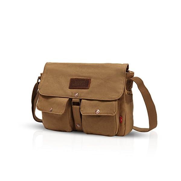 4114JyCPflL. SS600  - FANDARE Messenger Bag Crossbody Bolso Bandolera Shoulder Bag Portátil Estudiante Viaje Trabajo Escuela Bolsa Mensajero…