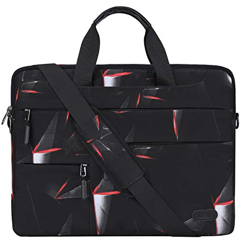 Laptop Bag 14 Inch Laptop Case Waterproof Men Women Briefcase Computer Notebook Sleeve Shoulder Messenger Bag Lightweight Carrying School Work