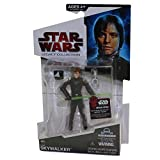 Action figure based on the thrilling character from the Star Wars film saga comes with a lightsaber and other accessories for galactic battle excitement! Figure comes with one DroidTM Factory part! Collect all the figures (each sold separately) to bu...
