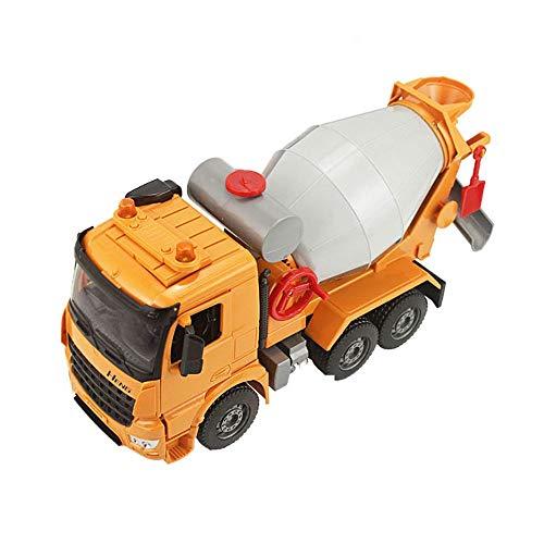 Xolye Großer Mixer LKW Spielzeug Sound und Lichtmusik Kinder Spielzeug Auto Geschenk Technik Truck Beton Truck Pump Truck Zement Tankwagen Spielzeug