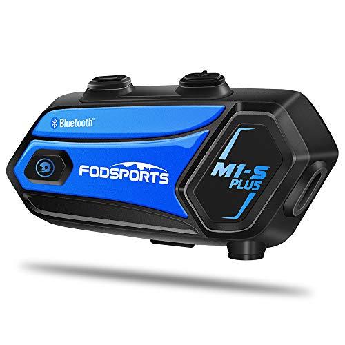Fodsports M1-S Plus Motorbike Intercom Bluetooth With Music Sharing,...
