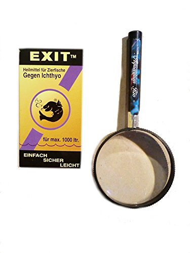 Aquarium Rio Esha Exit 20ml & Lupe