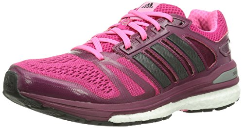 adidas Supernova Sequence Boost 7, Zapatillas de Running Mujer, Pink (Buzz Pink/Core Black/Neon Pink), 36 2/3 EU (4)