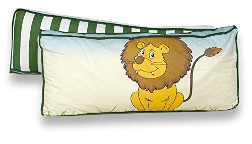 Rückenkissen-Set für Kinderzimmer mit Farbauswahl, Kissenfarbe:Safari