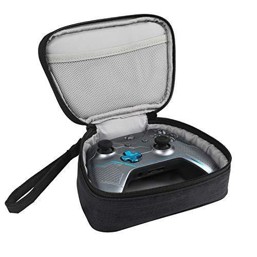 YSAGi Travel Tragetasche Tragbare Aufbewahrungstasche Hülle Kompatibel mit X-box One / Xbox One S / Xbox One X-Controller mit Netztasche Passend für Stecker und Kabel (Schwarz)