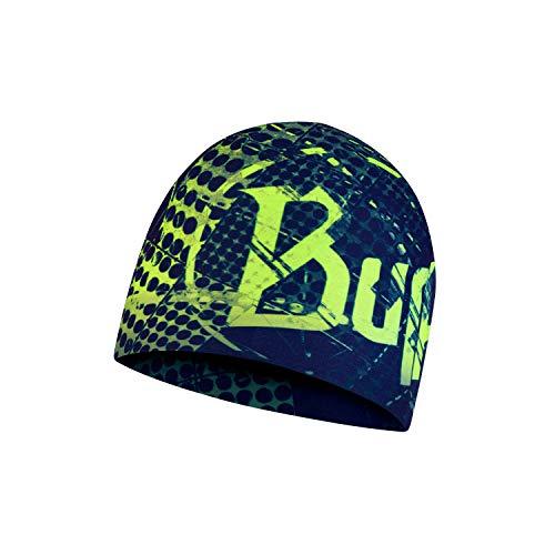 Original Buff Microfiber Reversible Hat Havoc Blue Gorro, Unisex Adulto, Talla única