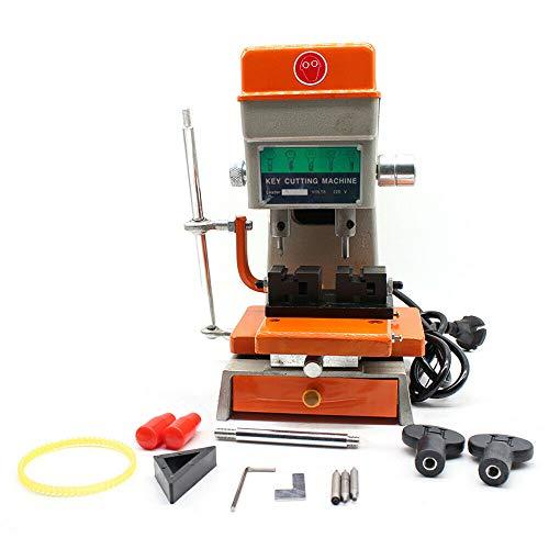 Copier Chiave Macchina Automatica per la Duplicazione delle Chiavi 220V Miglior Compagno per Fabbri Key Machine Macchina Universale per Chiavi di Duplicazione.